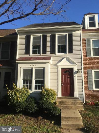 Springfield Townhouse For Sale: 8483 Laurel Oak Drive