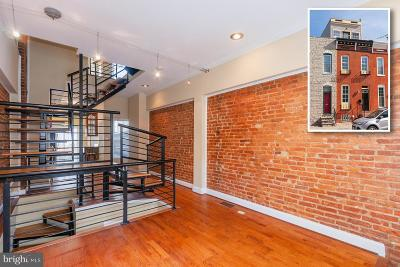 Federal Hill Townhouse For Sale: 1229 Patapsco Street