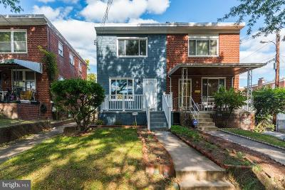 Brookland Single Family Home Under Contract: 730 Crittenden Street NE