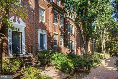Georgetown Townhouse For Sale: 3661 Winfield Lane NW