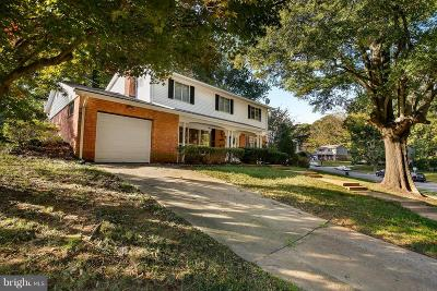 Springfield, Burke Single Family Home For Sale: 5303 Weymouth Drive