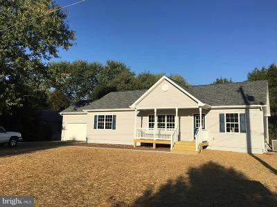 Fredericksburg City, Stafford County Single Family Home For Sale: Walnut Drive