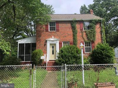District Heights Single Family Home Active Under Contract: 6200 Elmhurst Street