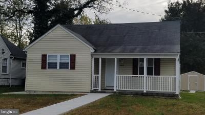 District Heights Single Family Home For Sale: 7419 Marlboro Pike