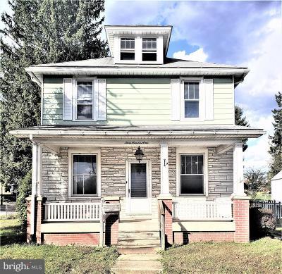 Middletown Single Family Home For Sale: 301 E Emaus Street