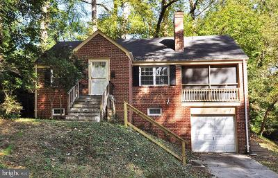 Silver Spring Single Family Home For Sale: 104 Park Valley Road
