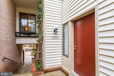 Montgomery Village Townhouse For Sale: 18619 Pier Point Place