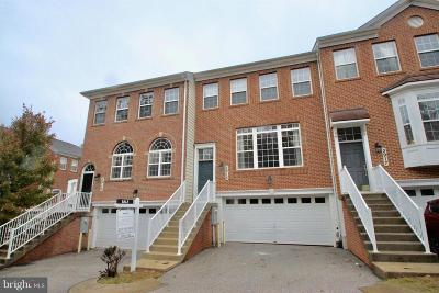 Burtonsville Townhouse Under Contract: 3915 Chelsea Park Lane #5