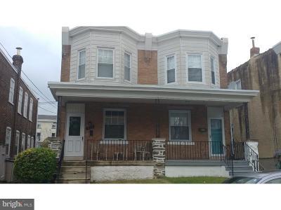 Roxborough Single Family Home For Sale: 438 Delmar Street
