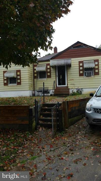 Capitol Heights Single Family Home Active Under Contract: 1301 Chapel Lane
