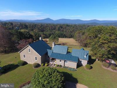 Rappahannock County Single Family Home For Sale: 43 Grunkle Lane