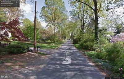 Silver Spring Residential Lots & Land For Sale: 11432 Mapleview Drive