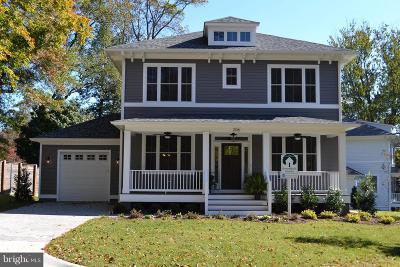 Falls Church Single Family Home For Sale: 206 Marshall Street