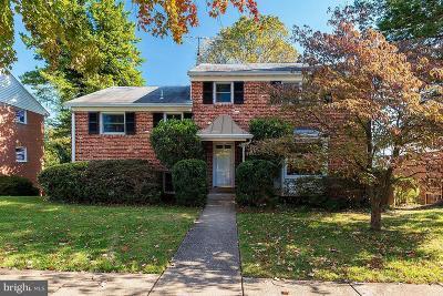 Bethesda Single Family Home For Sale: 9909 Belhaven Road