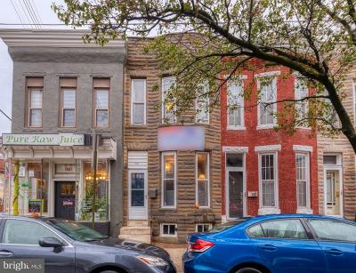 Federal Hill Townhouse For Sale: 1403 Riverside Avenue