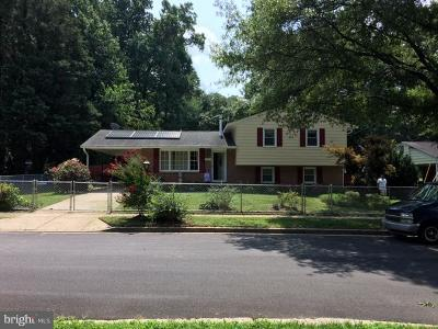 Bowie Single Family Home For Sale: 13215 Dangelo Drive
