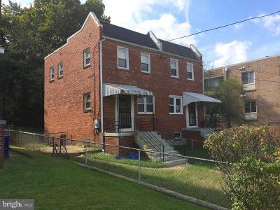 Washington Townhouse For Sale: 433 Xenia Street SE