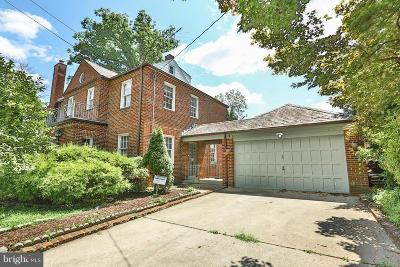 Crestwood Single Family Home For Sale: 4130 16th Street NW