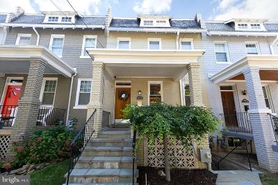 Petworth, Petworth/16th Street Heights, Petworth/Brightwood, Petwoth Townhouse For Sale: 4918 Illinois Avenue NW