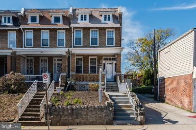 Columbia Heights, Columbia Heights/U St Townhouse For Sale: 3122 Warder Street NW