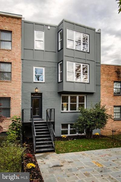 Washington Condo For Sale: 1643 New Jersey Avenue NW #1