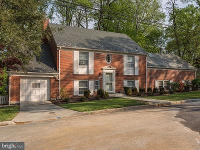 Washington Single Family Home For Sale: 4621 Blagden Terrace NW