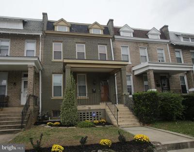 Washington Townhouse For Sale: 16 Evarts Street NE