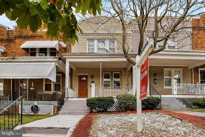 Washington Townhouse For Sale: 5017 7th Street NW