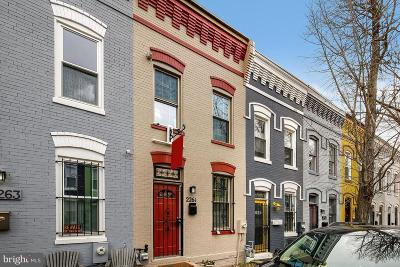 Washington Townhouse For Sale: 2261 12th Place NW