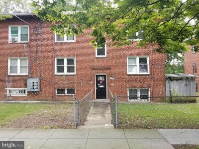 Washington Multi Family Home Under Contract: 1420 Eastern Avenue NE