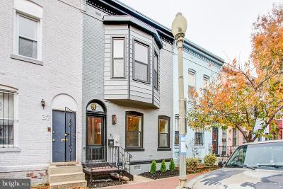 Washington Townhouse Under Contract: 35 Bates Street NW
