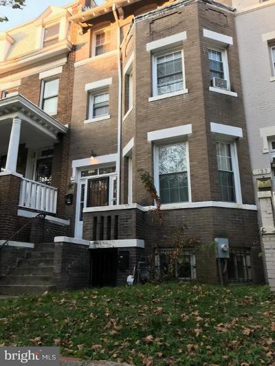 Washington DC Townhouse For Sale: $1,650