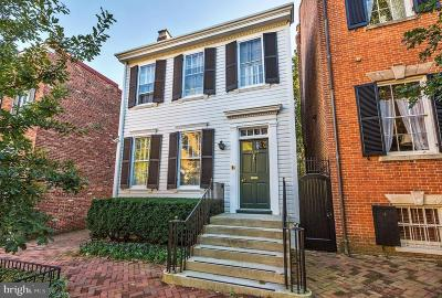Washington Single Family Home For Sale: 2804 N Street NW
