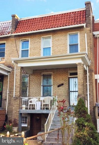 Washington Townhouse For Sale: 1302 Spring Road NW