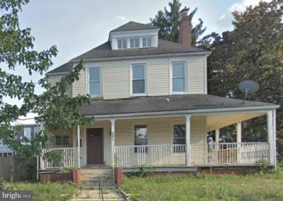 Single Family Home For Sale: 201 S Street NE