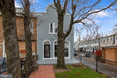Washington Townhouse For Sale: 1209 17th Street NE