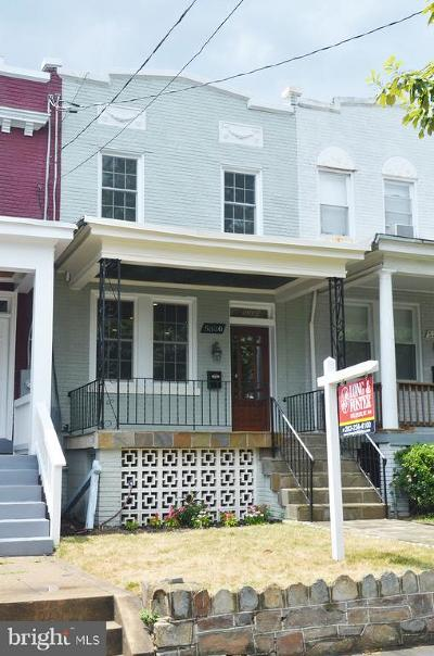 Petworth, Petworth/16th Street Heights, Petworth/Brightwood, Petwoth Townhouse For Sale: 5330 5th Street NW