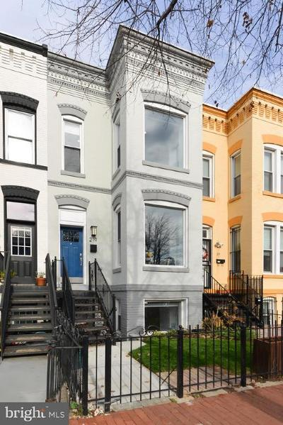 Washington Townhouse For Sale: 219 R Street NW