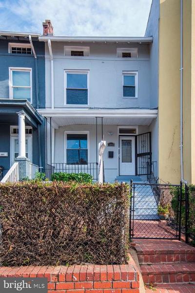 Washington Townhouse For Sale: 2603 Sherman Avenue NW