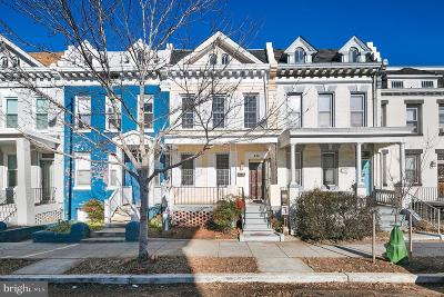 Columbia Heights Townhouse For Sale: 747 Park Road NW