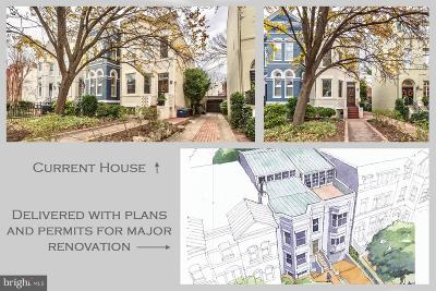 Capital Hill, Capitol Hill, Capitol Hill North, Capitol Hill Tower, Capitol Square At The Waterfront Single Family Home For Sale: 432 New Jersey Avenue SE