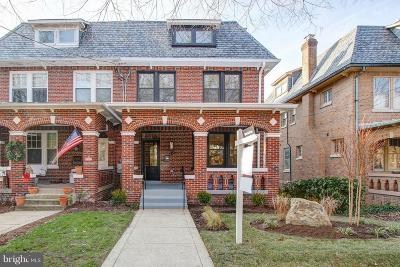 Washington Single Family Home For Sale: 2814 39th Street NW