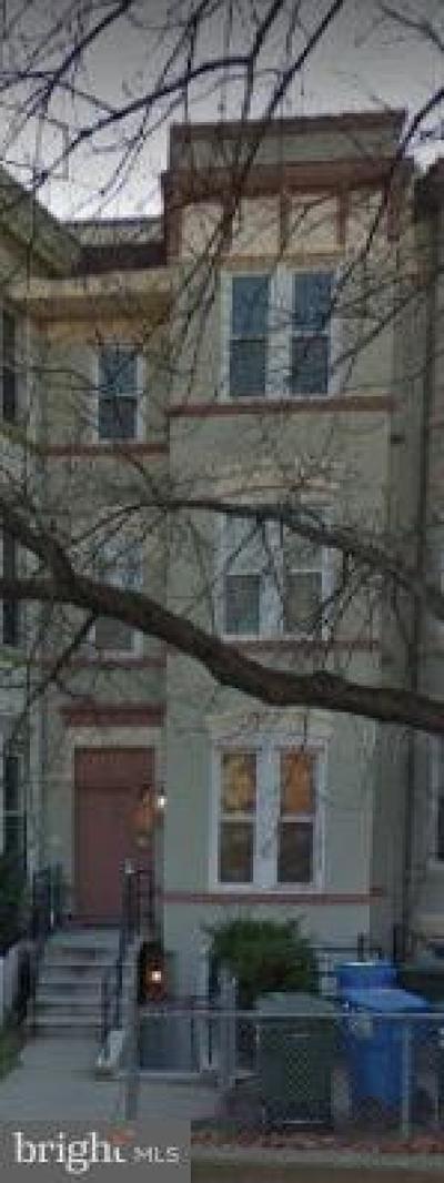 Washington Multi Family Home For Sale: 1450 Fairmont Street NW