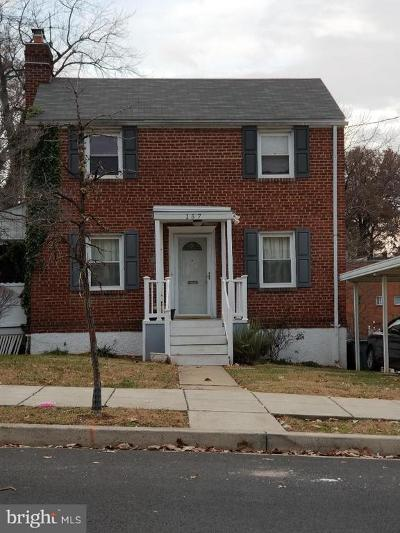 Washington DC Single Family Home For Sale: $399,900