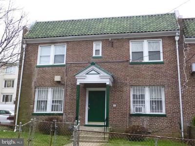 Washington Multi Family Home For Sale: 1647 V Street SE