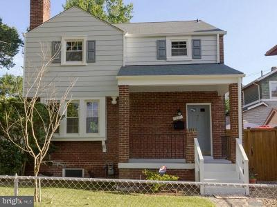 Washington DC Single Family Home For Sale: $675,000