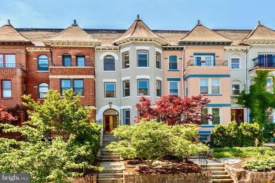 Columbia Heights Single Family Home For Sale: 1304 Fairmont Street NW #1
