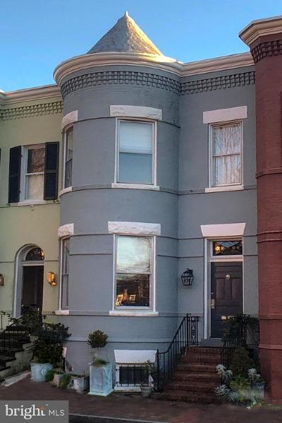 Georgetown, Georgetown Heights Townhouse For Sale: 3206 Q Street NW