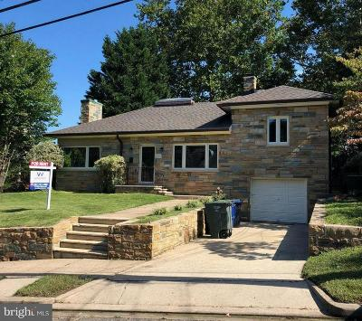 Chevy Chase Rental For Rent: 5745 Moreland Street NW