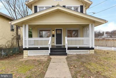 Takoma Park Single Family Home For Sale: 207 Underwood Street NW